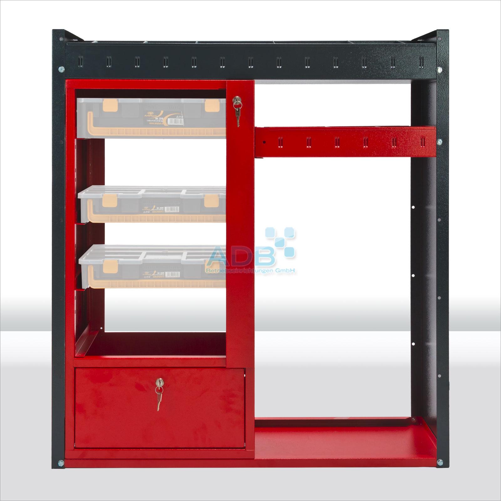 182399 fahrzeugeinrichtung kfz regal fahrzeugregal systemregal regal 40723 ebay. Black Bedroom Furniture Sets. Home Design Ideas