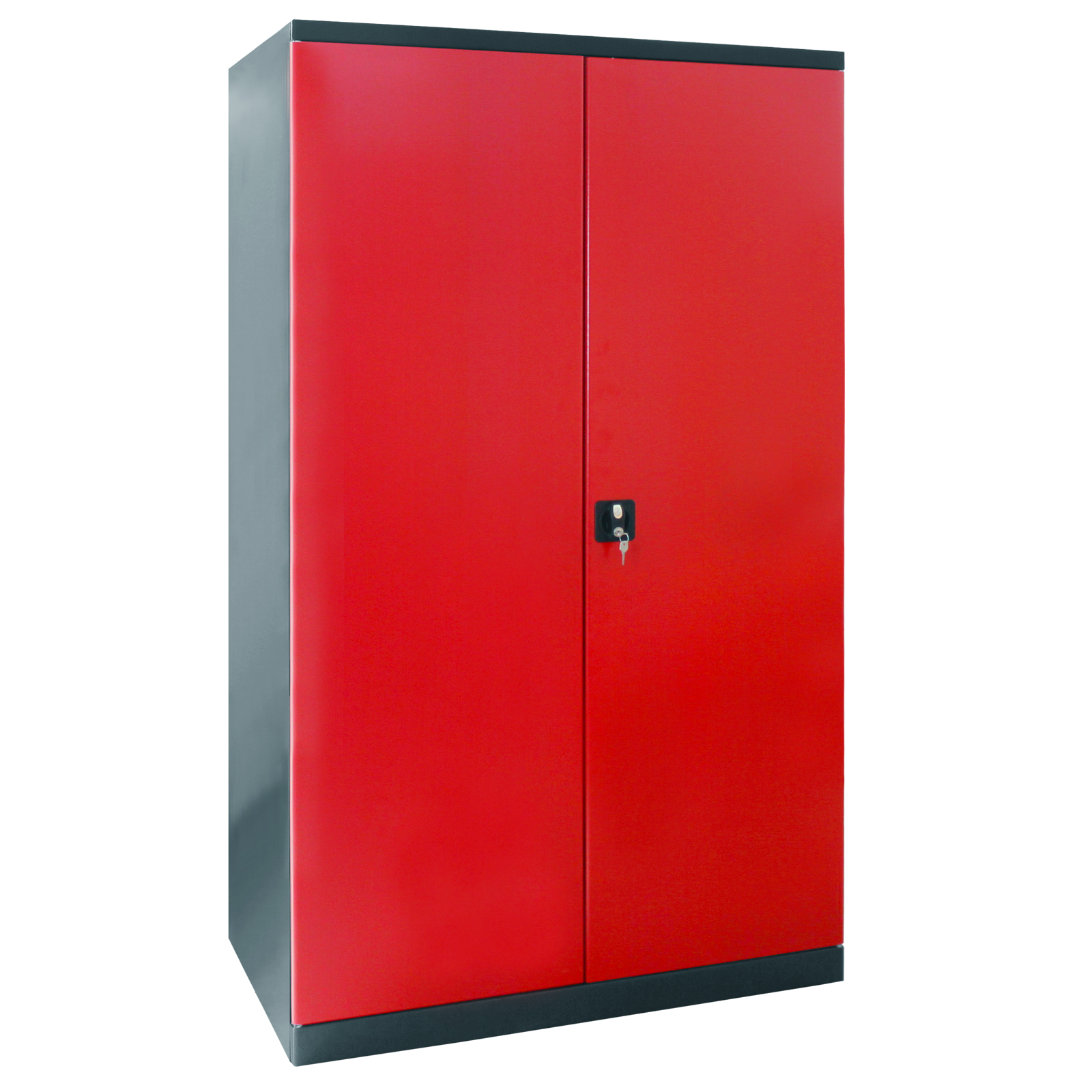 schrank xxl anthrazit rot metall schrank werkzeug 40913 ebay. Black Bedroom Furniture Sets. Home Design Ideas