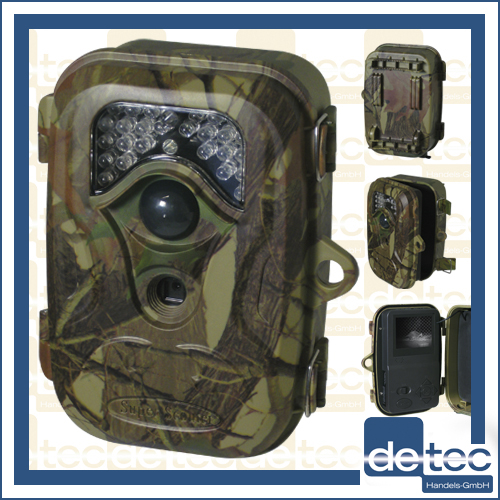 Detec-Secure-Wildkamera-Nachtsichtkamera-12MP-SD-Aufnahmefunktion-Uberwachung