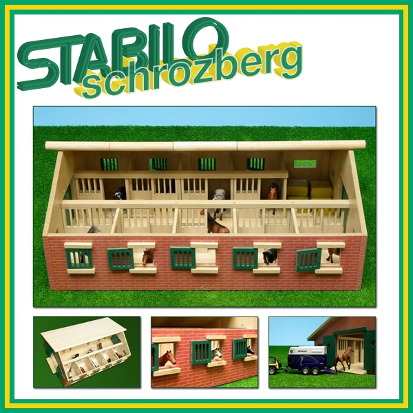 van manen holz bauernhof hof schuppen stall schweinestall kinder 918059 ebay. Black Bedroom Furniture Sets. Home Design Ideas