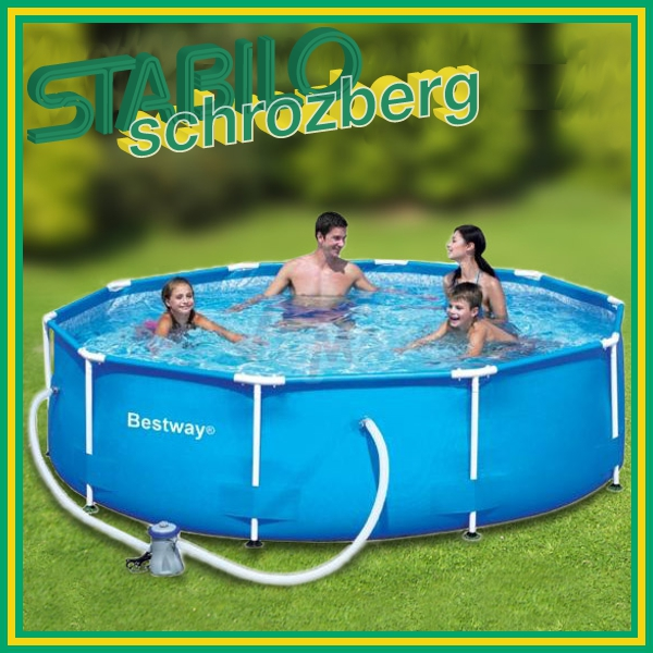 Gartenpool pool schwimmbecken swimmingpool 305 cm neu for Gartenpool ebay