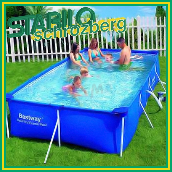 Gartenpool pool schwimmbecken swimmingpool 399x211 m neu for Gartenpool angebote