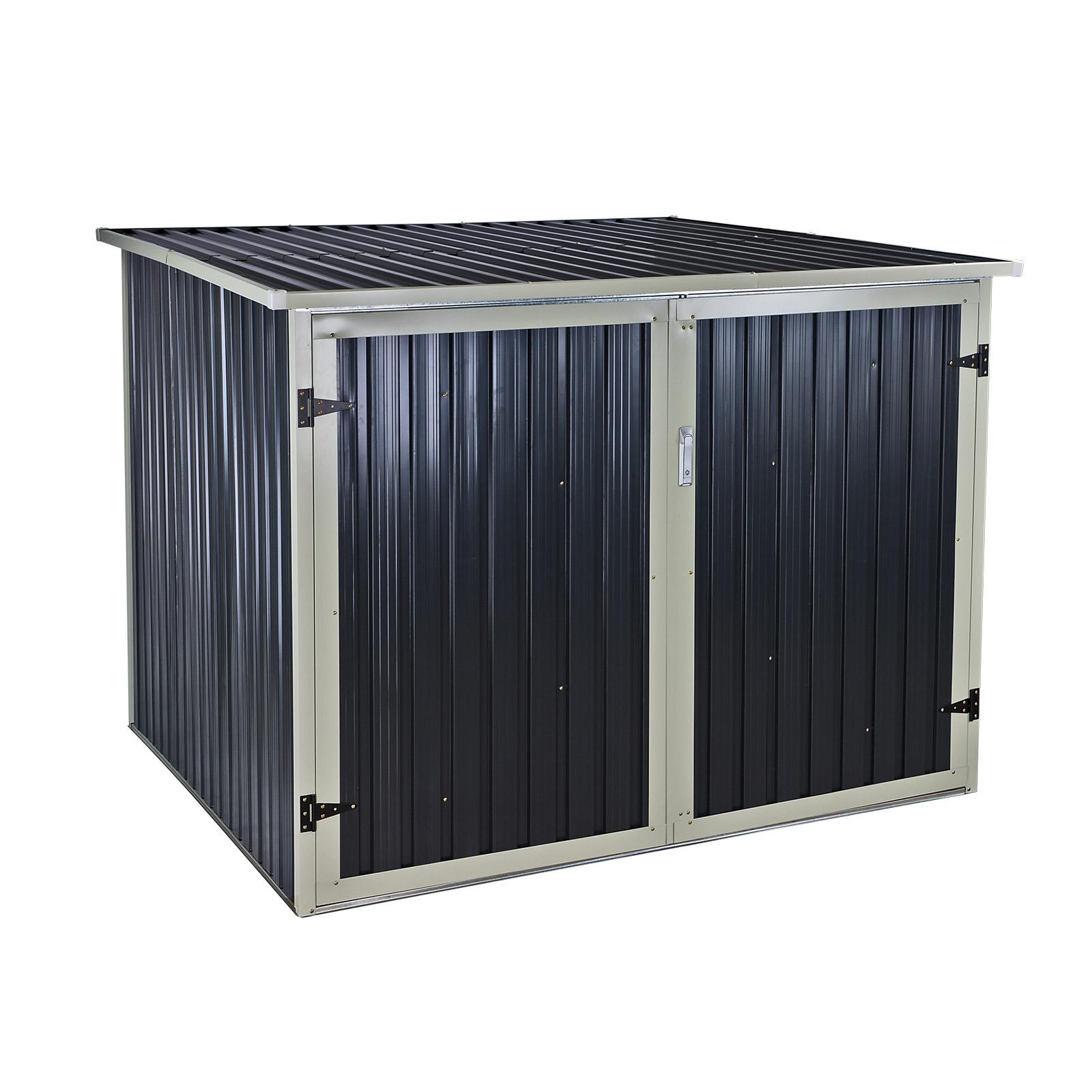 911943 fahrradbox fahrradhaus fahrradgarage fahrrad 4. Black Bedroom Furniture Sets. Home Design Ideas