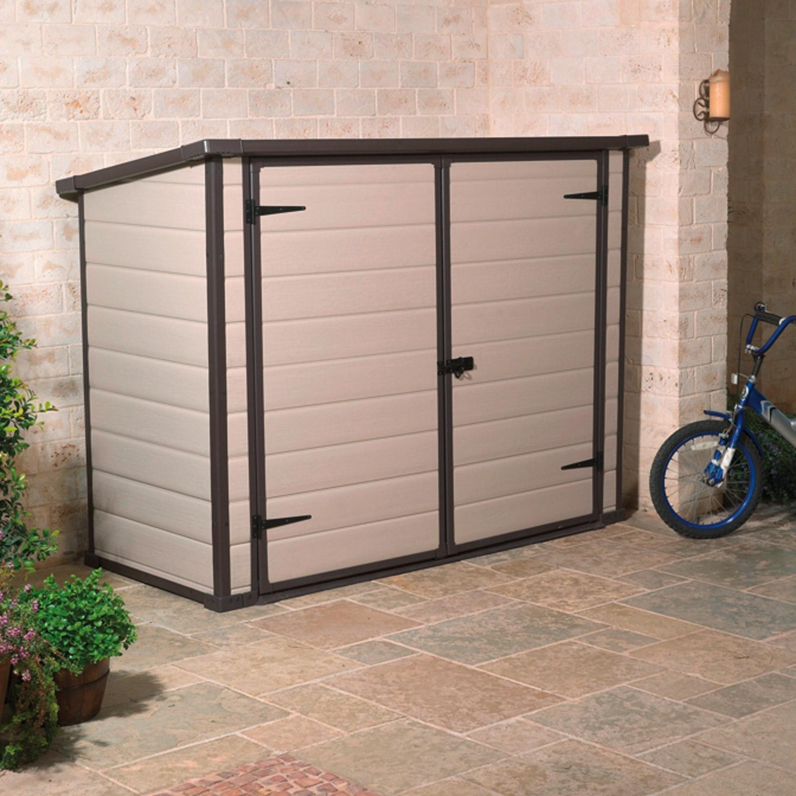m lltonnenbox universalbox gartenbox fahrradbox polypropylen neu 919794 ebay. Black Bedroom Furniture Sets. Home Design Ideas