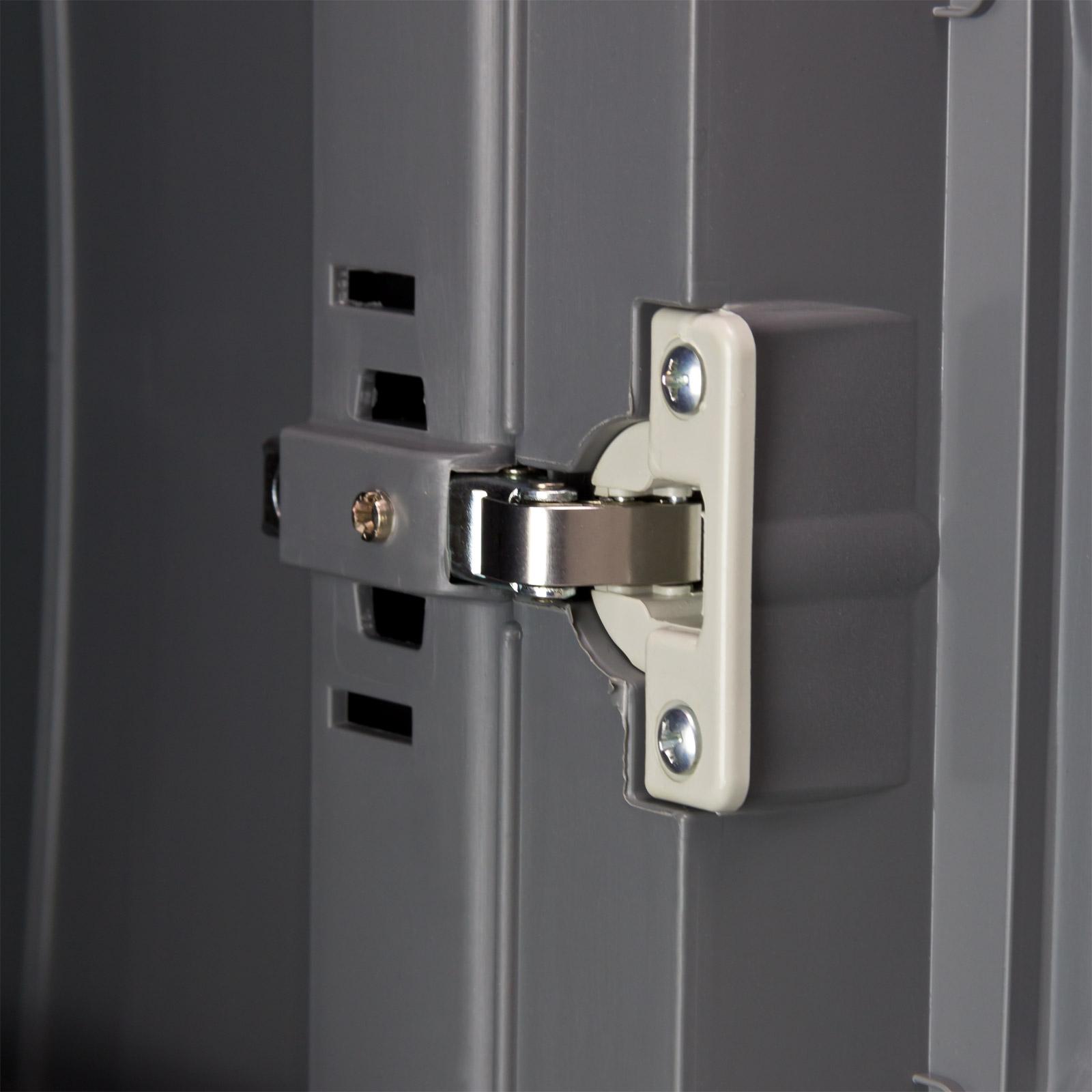 kunststoff schrank kellerschrank spind kunststoffschrank ger teschrank 10066 ebay. Black Bedroom Furniture Sets. Home Design Ideas