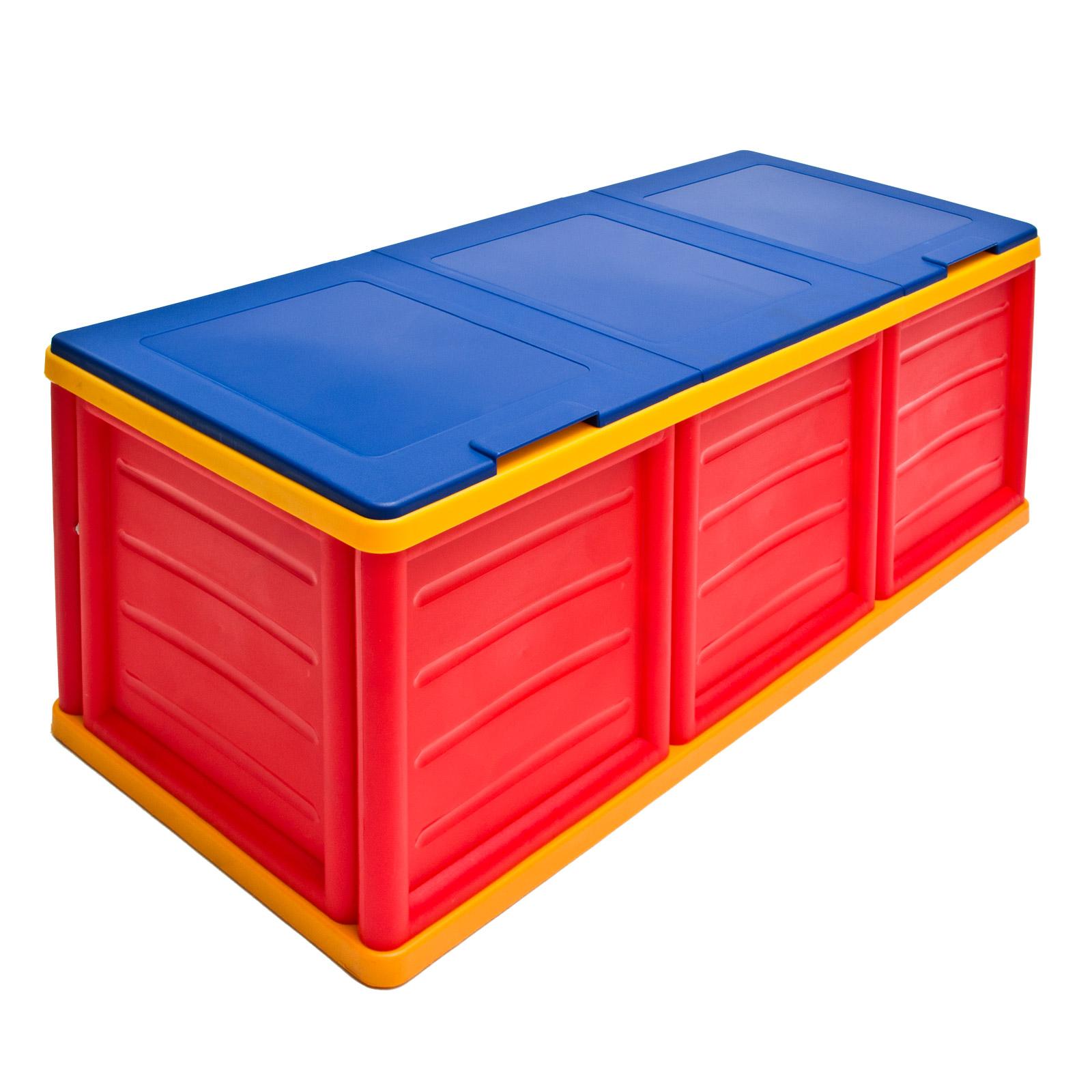 910502 kunststofftruhe vielzwecktruhe kunststoff truhe aufbewahrungsbox ebay. Black Bedroom Furniture Sets. Home Design Ideas