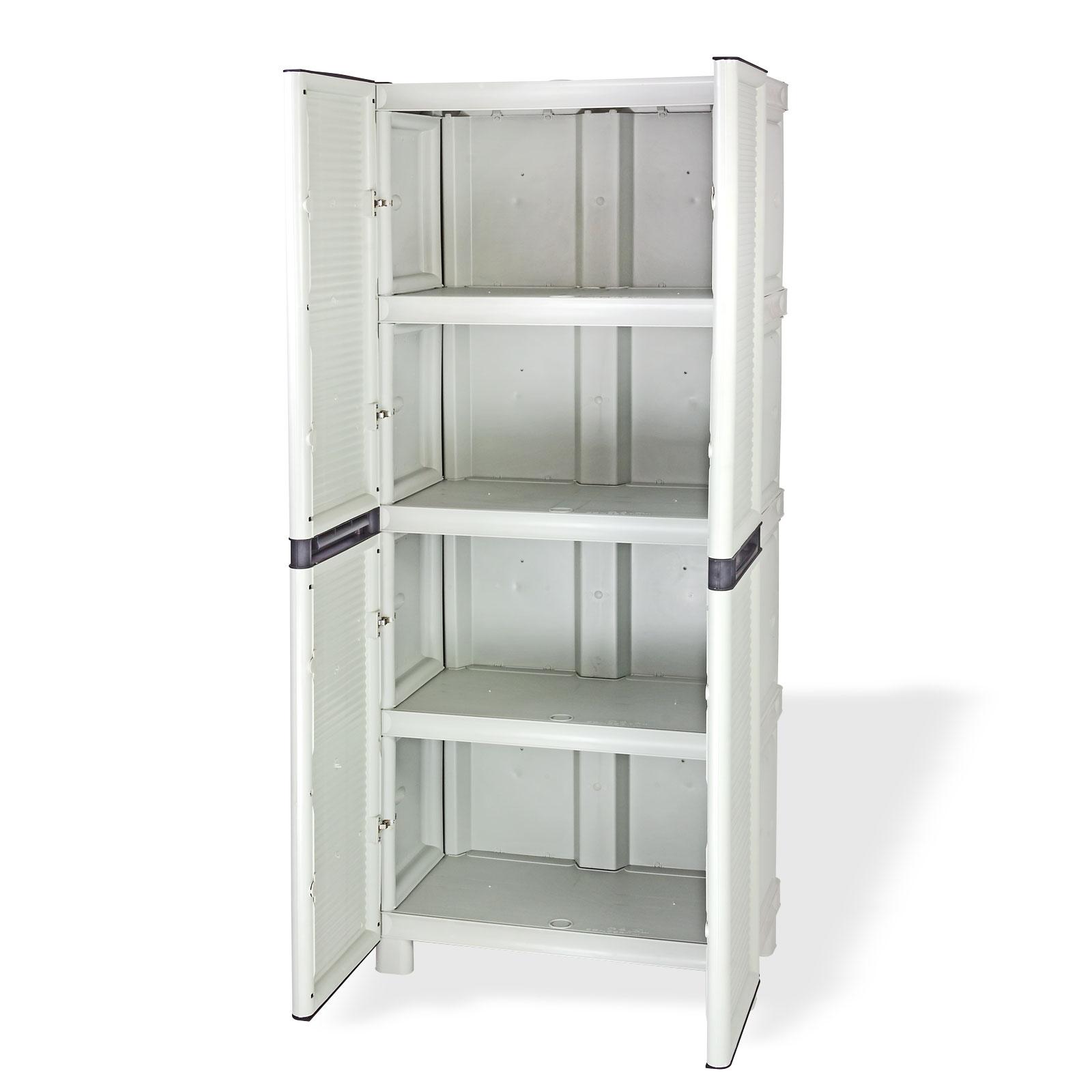 kunststoff schrank kellerschrank spind neu ovp 10128 ebay. Black Bedroom Furniture Sets. Home Design Ideas