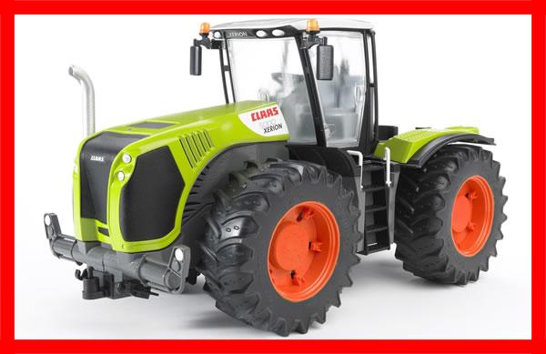 Bruder claas xerion traktor drehbare