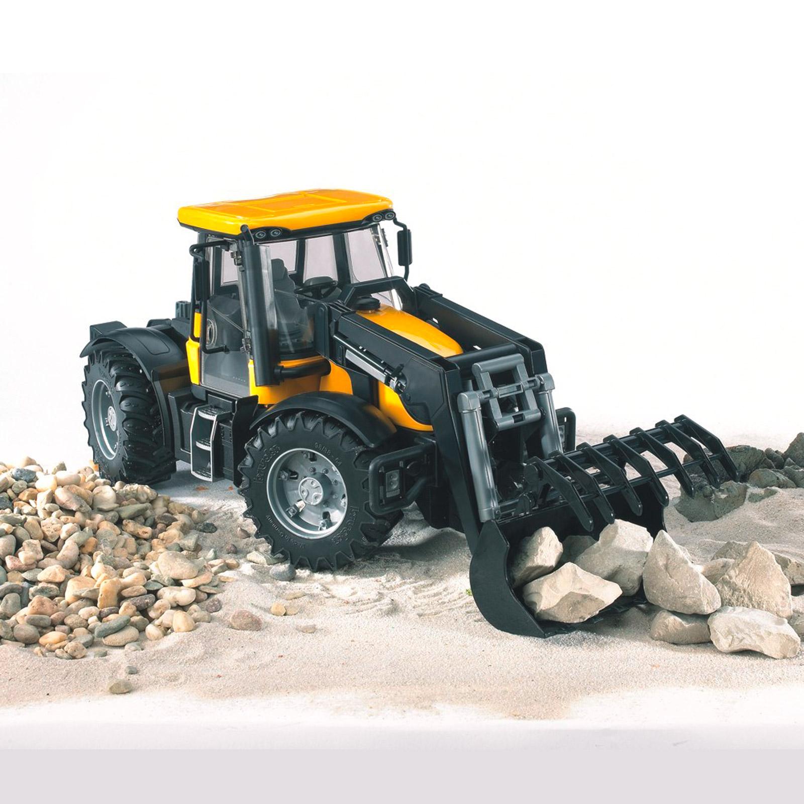 bruder 03031 jcb traktor fastrac 3220 frontlader 10346 ebay. Black Bedroom Furniture Sets. Home Design Ideas