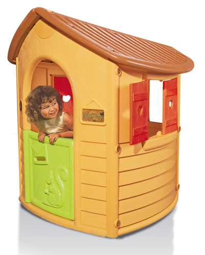 916876 smoby berchet spielhaus blockhaus kinderzimmer garten ebay. Black Bedroom Furniture Sets. Home Design Ideas