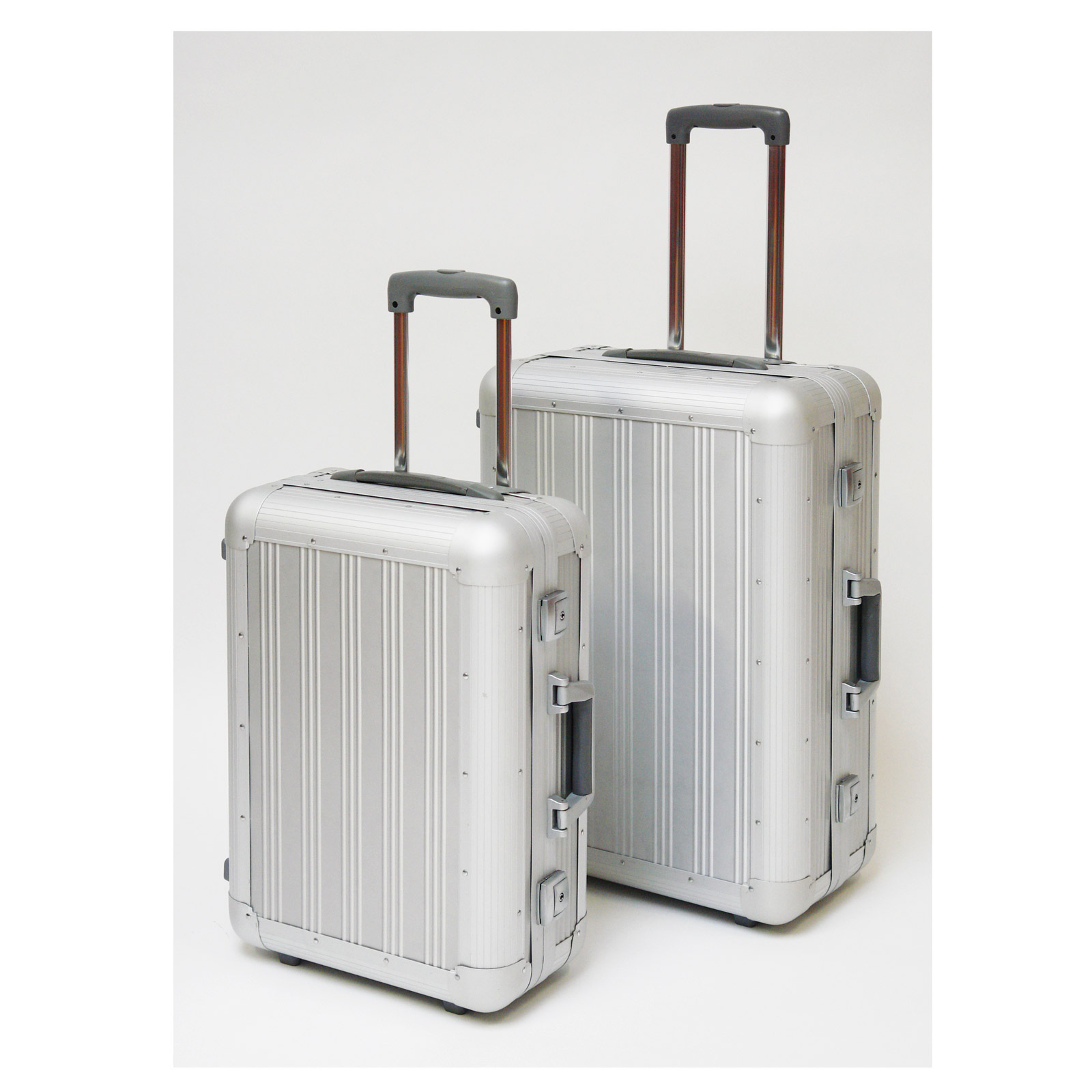 alu koffer trolley set 2 in 1 pilotenkoffer koffer reise urlaub 916928 ebay. Black Bedroom Furniture Sets. Home Design Ideas