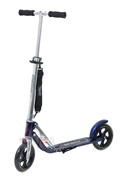 hudora big wheel mc 205 laserblau roller scooter 11210. Black Bedroom Furniture Sets. Home Design Ideas