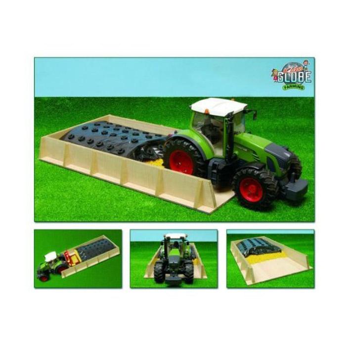 917335 silo holz bruder traktoren spielzeug bauernhof 1 16 spielzeugsilo ebay. Black Bedroom Furniture Sets. Home Design Ideas