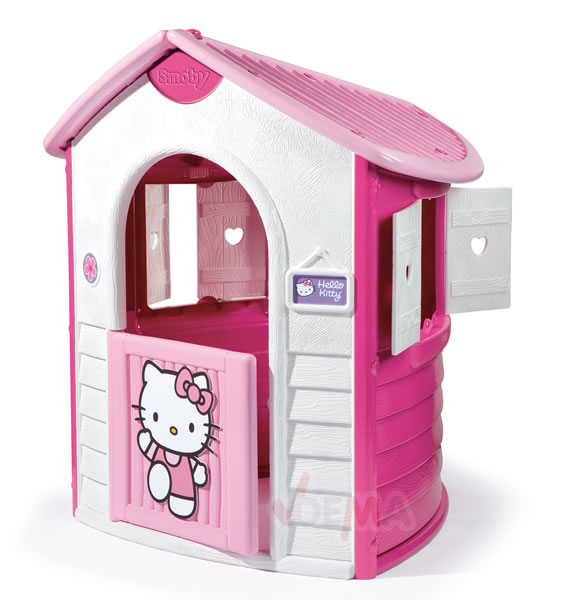 917790 smoby hello kitty spielhaus cottage spielzeug gartenhaus kinderspielzeug ebay. Black Bedroom Furniture Sets. Home Design Ideas