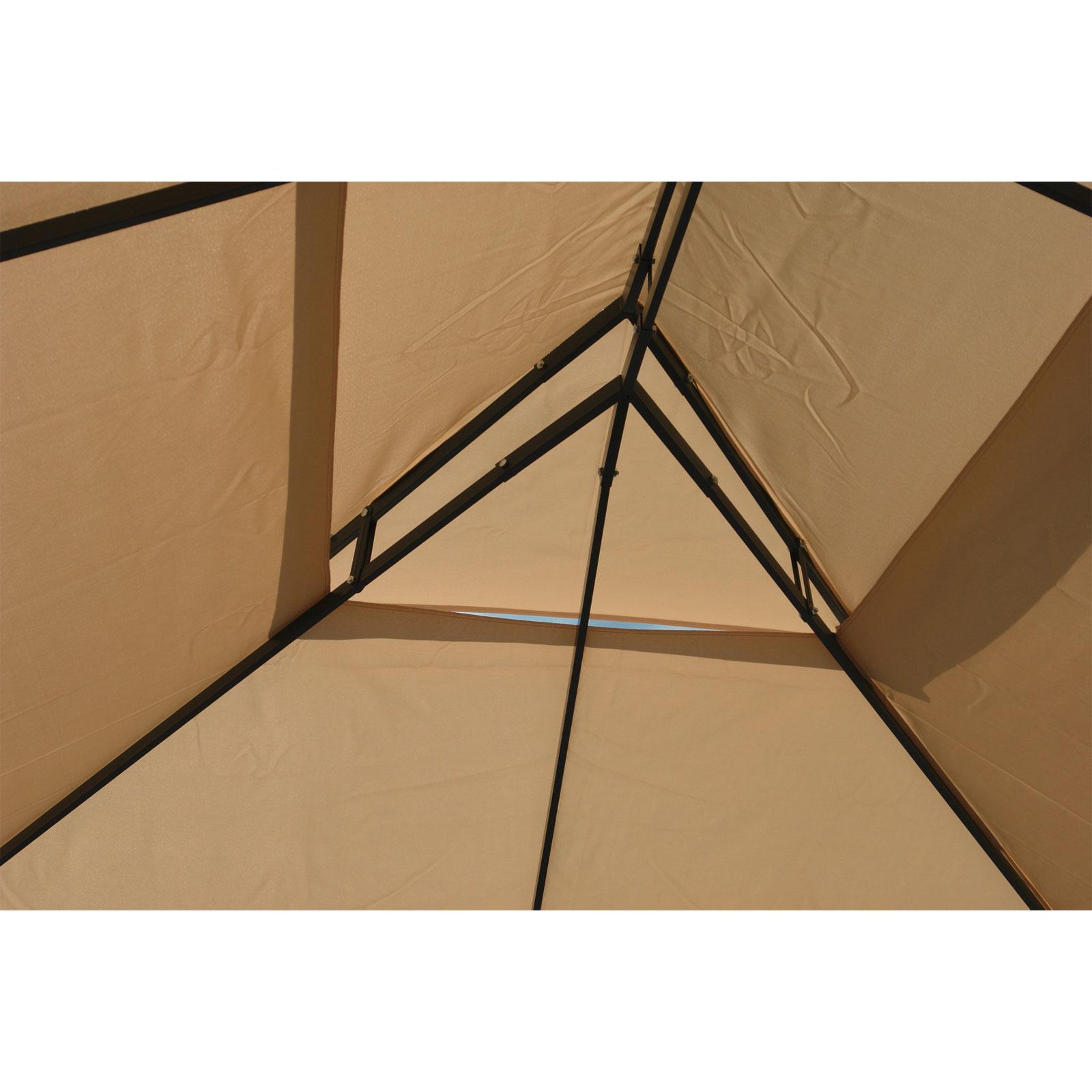 917491 metall pavillion gartenpavillon gartenzelt partyzelt garten pavillon 3x4 ebay. Black Bedroom Furniture Sets. Home Design Ideas