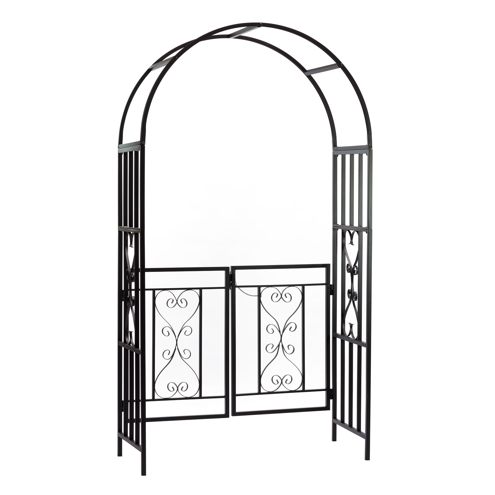 metall rosenbogen spalier rankgitter pergola rankhilfe rankgitter dover 14246 ebay. Black Bedroom Furniture Sets. Home Design Ideas