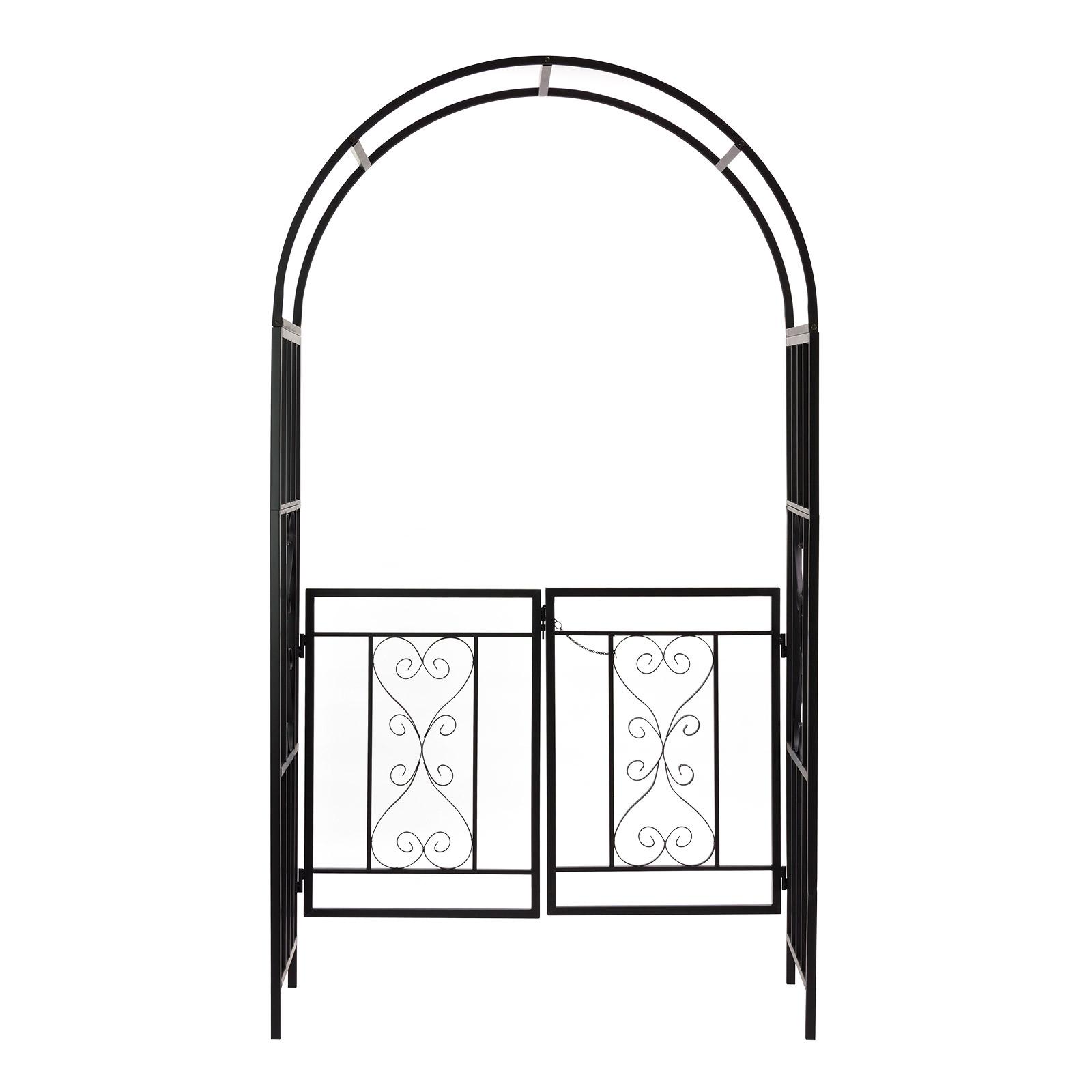 metall rosenbogen dover pergola rankhilfe rankgitter. Black Bedroom Furniture Sets. Home Design Ideas