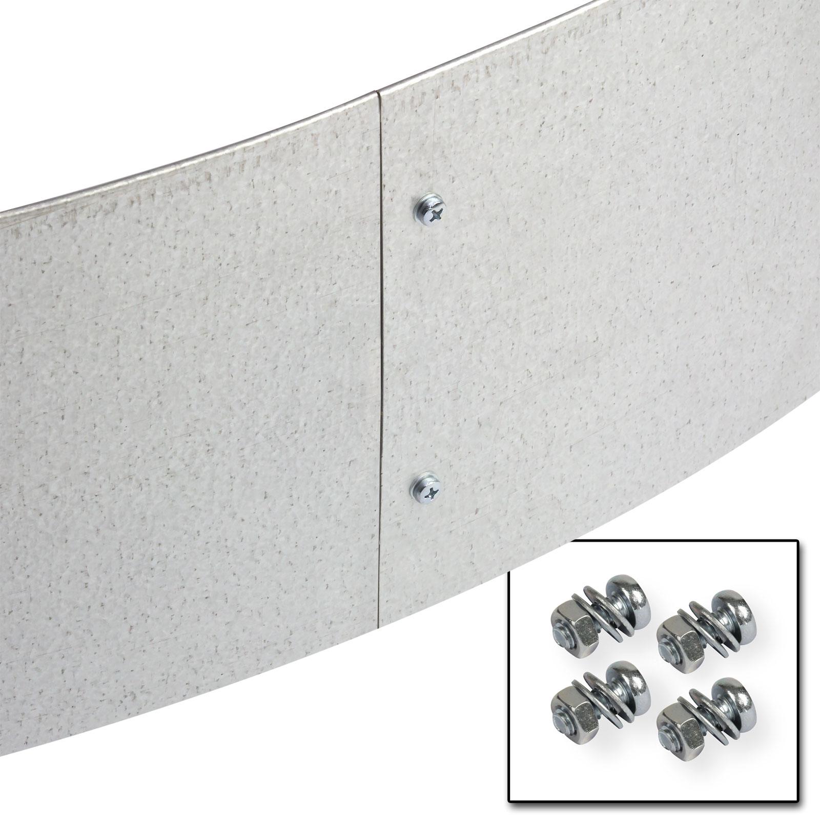 rasenkante beetumrandung beeteinfassung metall verzinkt. Black Bedroom Furniture Sets. Home Design Ideas