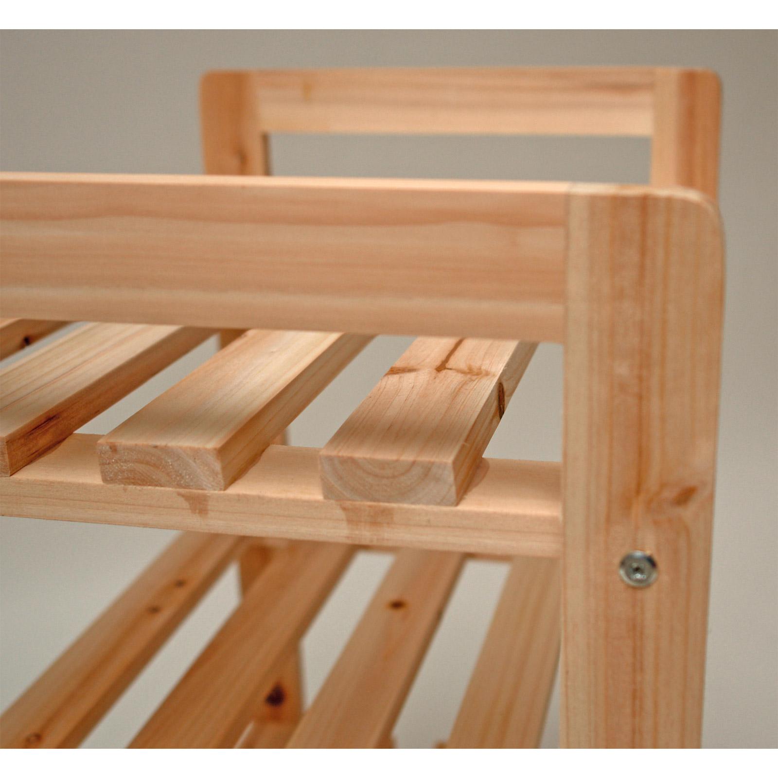 Schuhregal Holz Bauanleitung ~   Bücherregal Vorratsregal Schuhregal Massivholz Holz Regal 917446