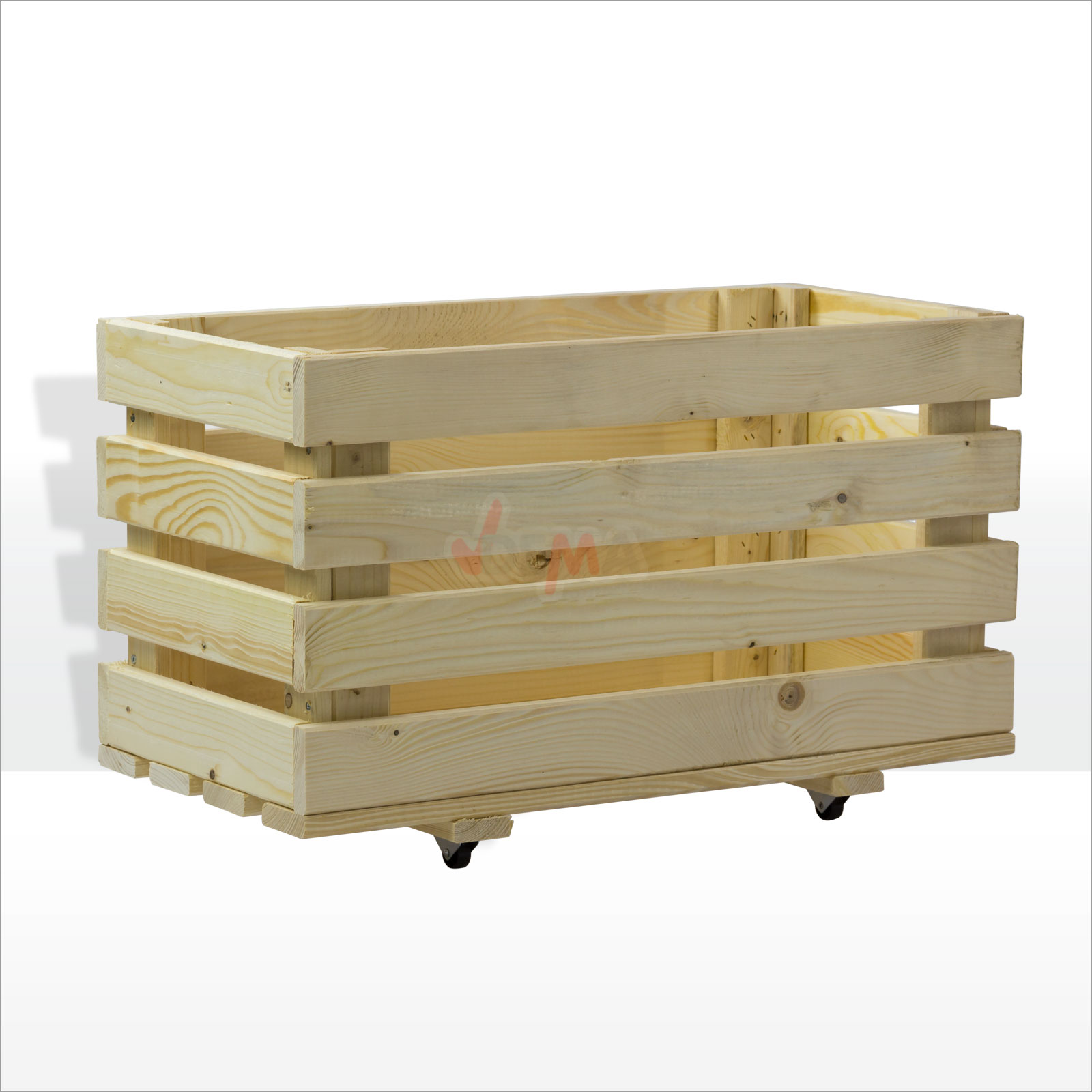 919529 holz rollkiste spielzeugkiste mobile holzbox allzweckkiste 66 x 34 x 40cm ebay. Black Bedroom Furniture Sets. Home Design Ideas