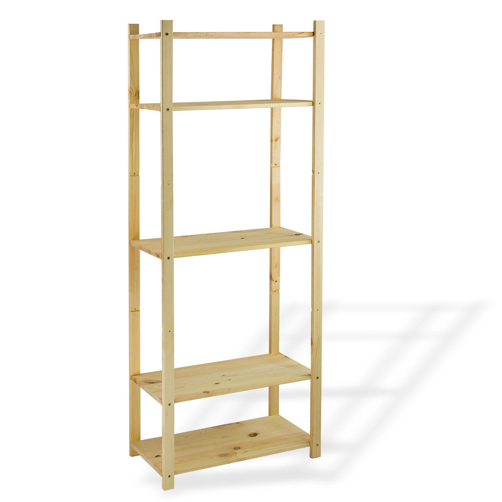 holzregal regal lagerregal vorratsregal lattenregal kellerregal 4 b den 15118 ebay. Black Bedroom Furniture Sets. Home Design Ideas