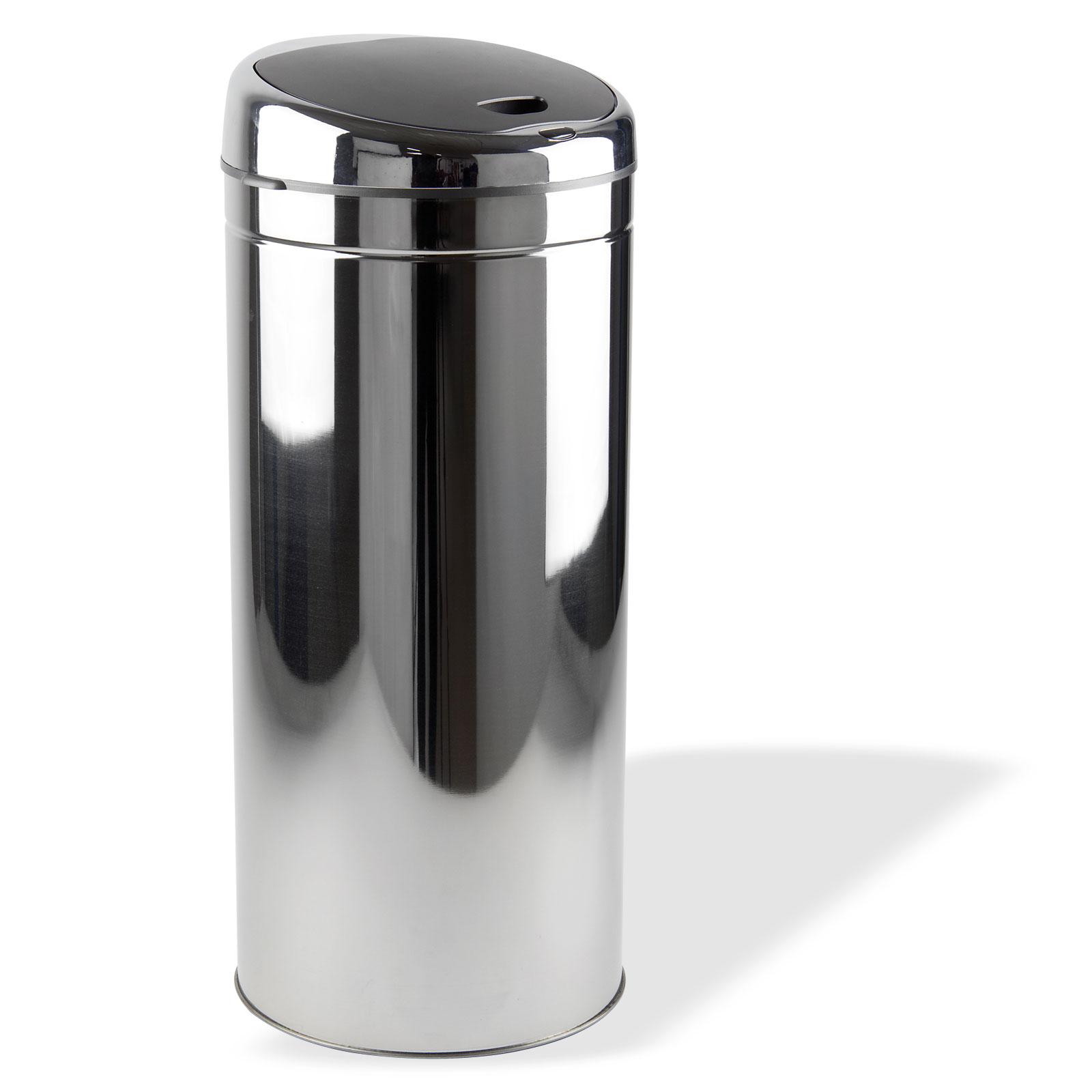 15122 automatik m lleimer mit sensor infrarot abfalleimer 50 liter ebay. Black Bedroom Furniture Sets. Home Design Ideas