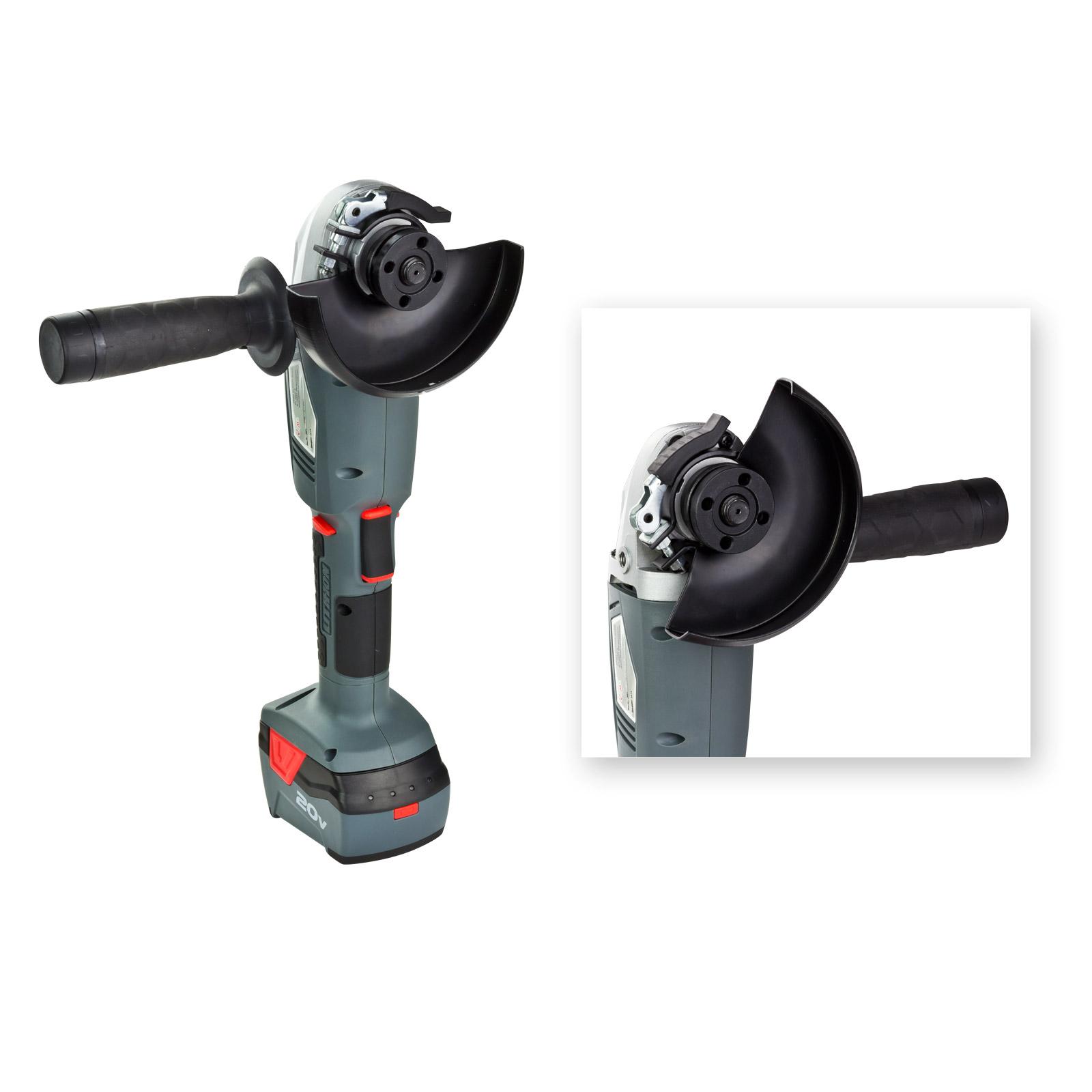 akku winkelschleifer 20v li ion flex schleifer 015213 917893 ebay. Black Bedroom Furniture Sets. Home Design Ideas