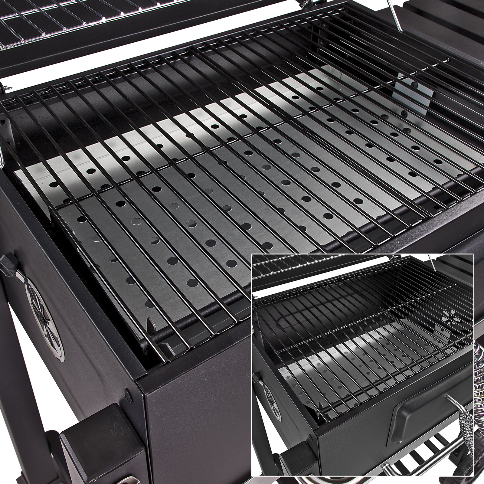 tepro holzkohlegrill toronto grill barbecue wagengrill standgdrill neu 17469 ebay. Black Bedroom Furniture Sets. Home Design Ideas