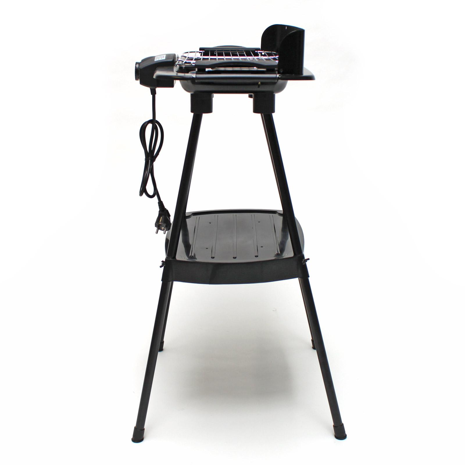 elektrogrill f r balkon elektrogrill incl rollbaren grillwagen tisch feldafing der. Black Bedroom Furniture Sets. Home Design Ideas