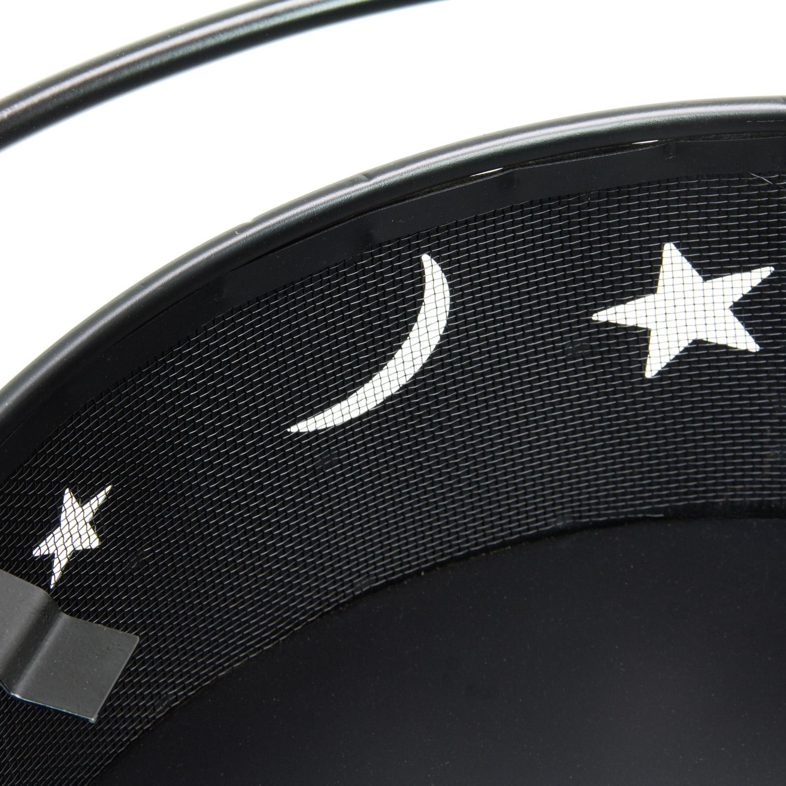 918717 grill feuerkorb feuerstelle mond und sterne ebay. Black Bedroom Furniture Sets. Home Design Ideas