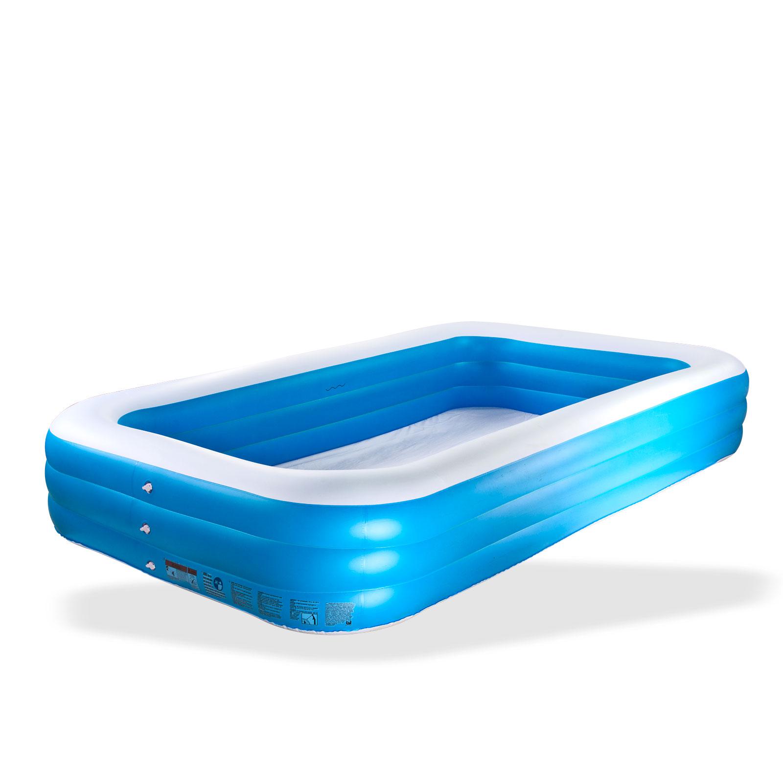 Swimming pool extra gro 3m planschbecken kinderbecken for Pool 3m durchmesser aufblasbar