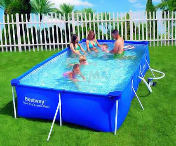 gartenpool pool schwimmbecken swimmingpool 399x211 m neu ovp 918074 ebay. Black Bedroom Furniture Sets. Home Design Ideas