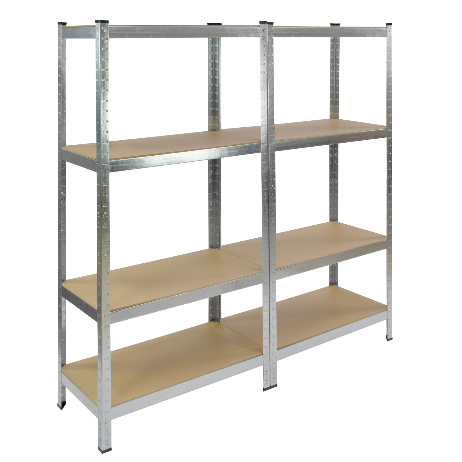 911089 steckregal kellerregal lagerregal metallregal schwerlastregal twin regal. Black Bedroom Furniture Sets. Home Design Ideas