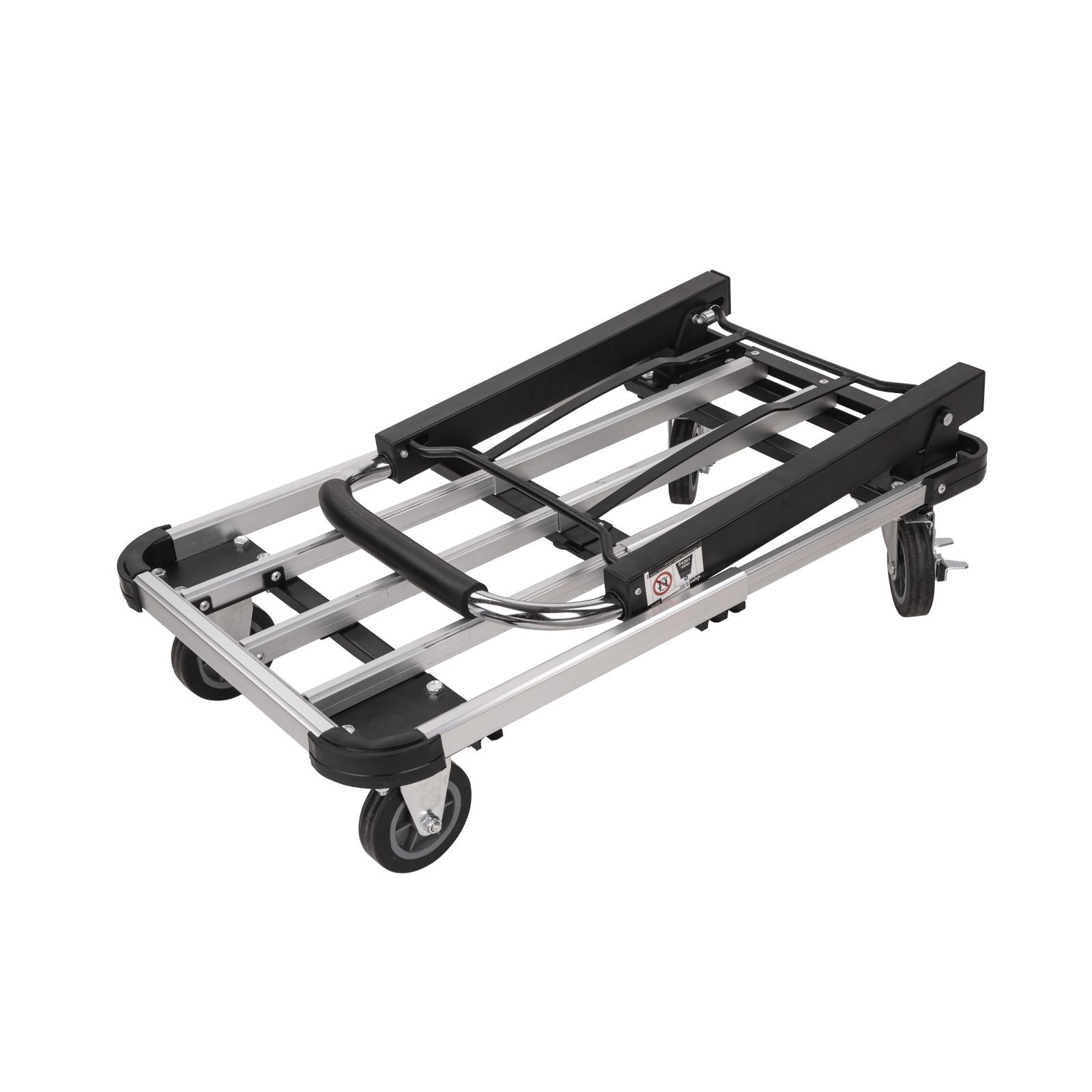 910334 alu transportwagen klappbar handwagen 150kg ebay. Black Bedroom Furniture Sets. Home Design Ideas