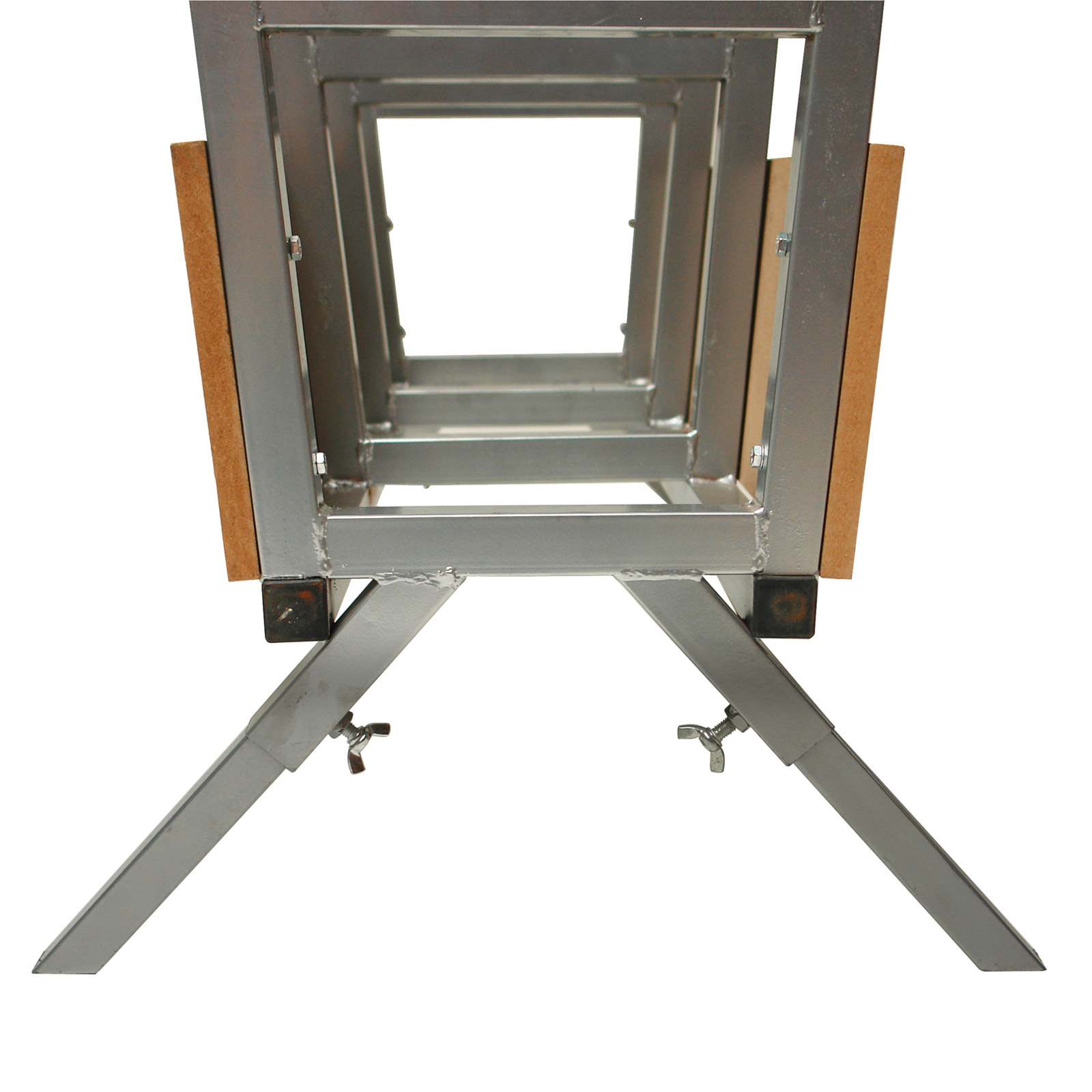 s gebock brennholz bock f r kettens ge metallbock 20068 913997 ebay. Black Bedroom Furniture Sets. Home Design Ideas