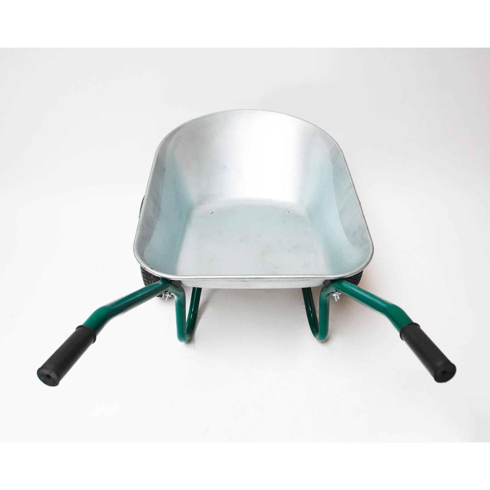 metall schubkarre mit 2 r der 80l aktionspreis neu. Black Bedroom Furniture Sets. Home Design Ideas
