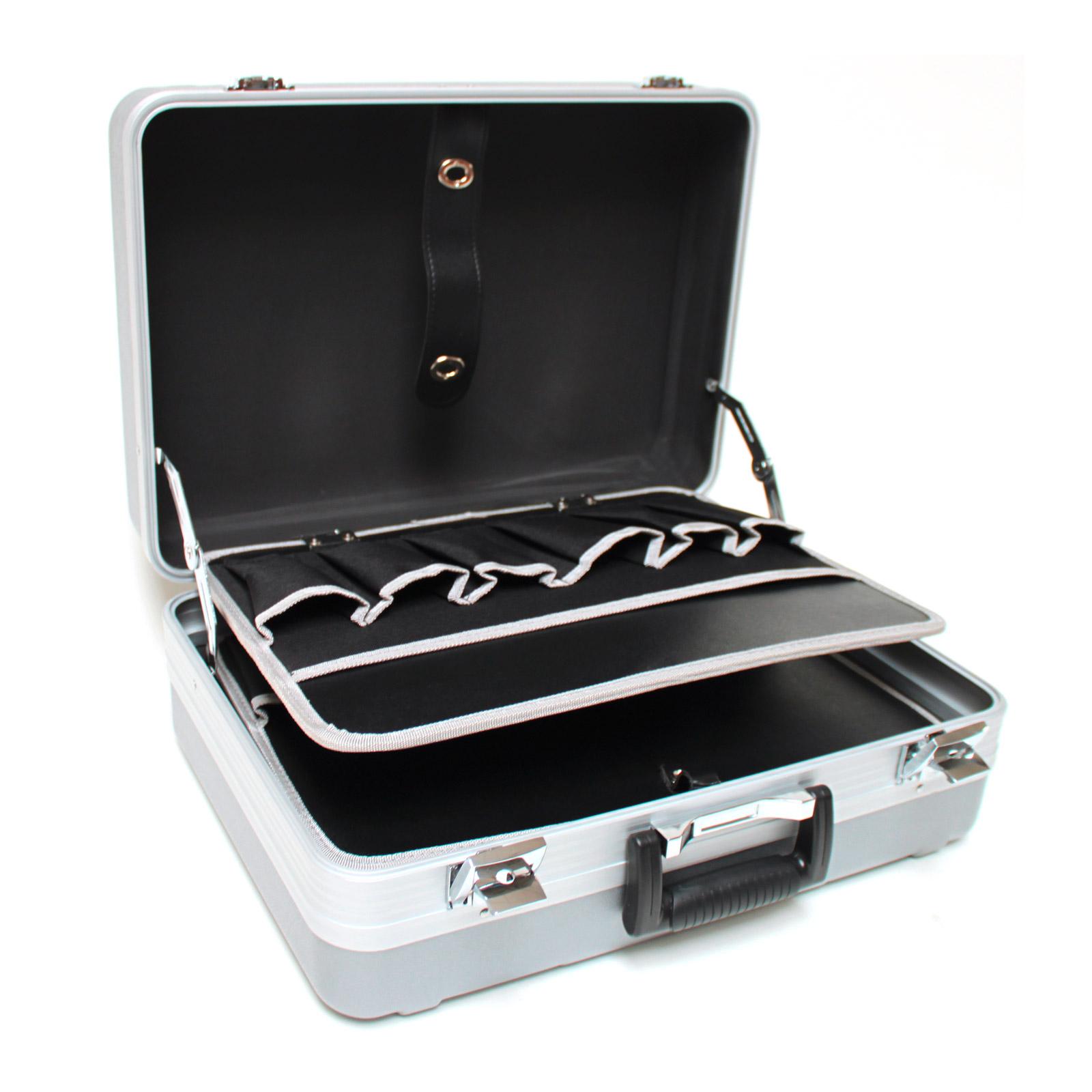 917684 werkzeugkoffer hartschalenkoffer koffer abs neu ebay. Black Bedroom Furniture Sets. Home Design Ideas