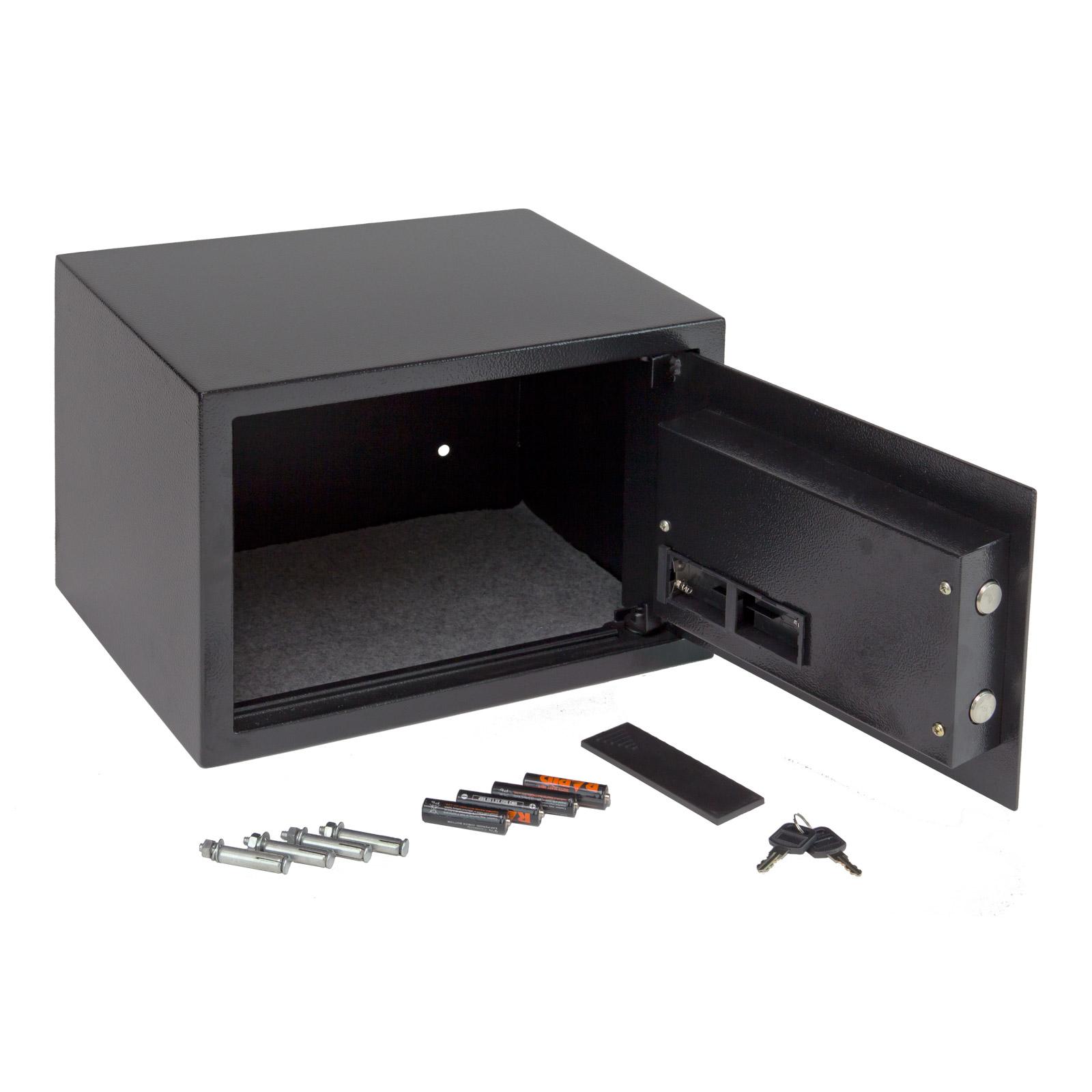 m beltresor digital zahlenschloss schl ssel safe wandtresor geldschrank 20955 ebay. Black Bedroom Furniture Sets. Home Design Ideas