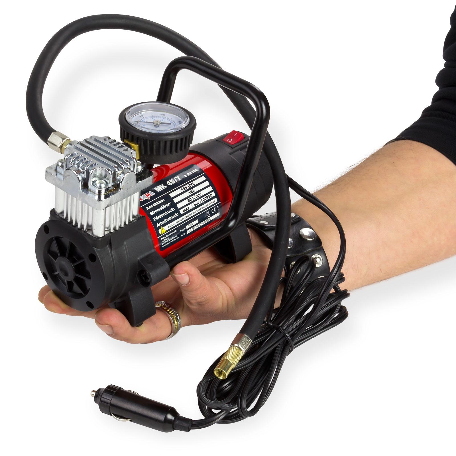 mini kompressor 12 volt druckluft pumpe minikompressor. Black Bedroom Furniture Sets. Home Design Ideas