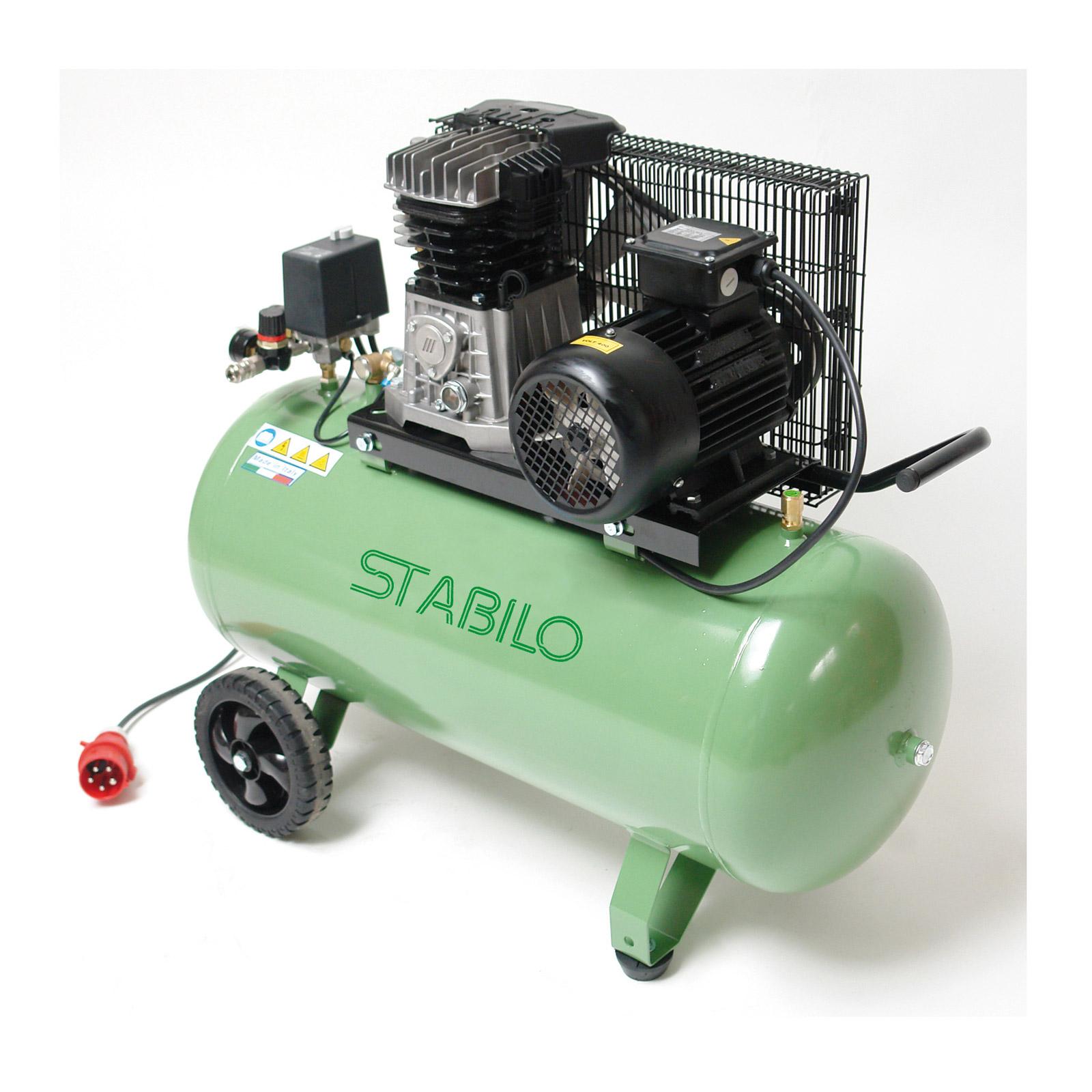 Kompressor-Druckluft-500-10-100-400V-Keilriemen-Kolbenkompressor-2-Zylinder
