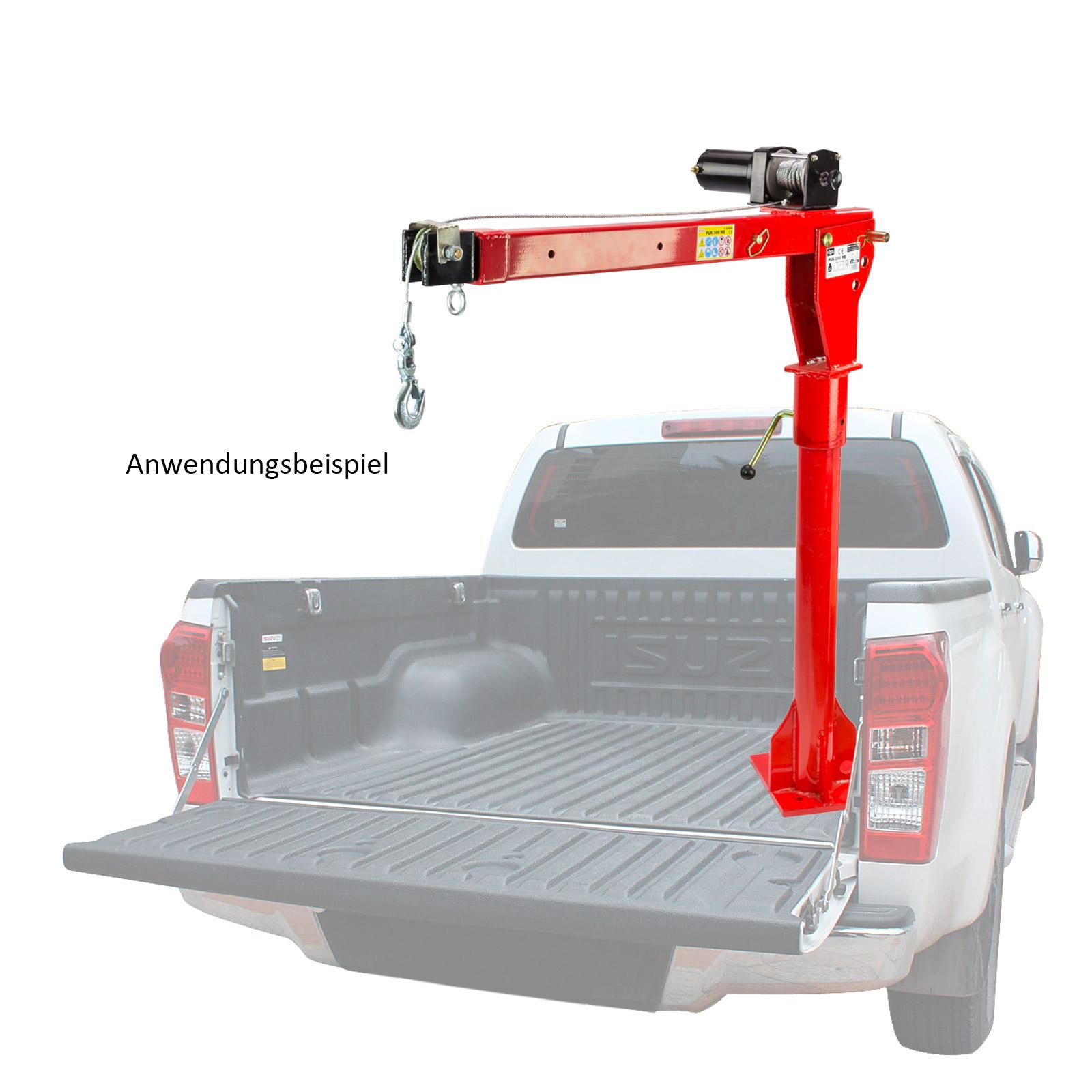 ladekran winde pickup kran hebekran lift pick up 24524 ebay. Black Bedroom Furniture Sets. Home Design Ideas