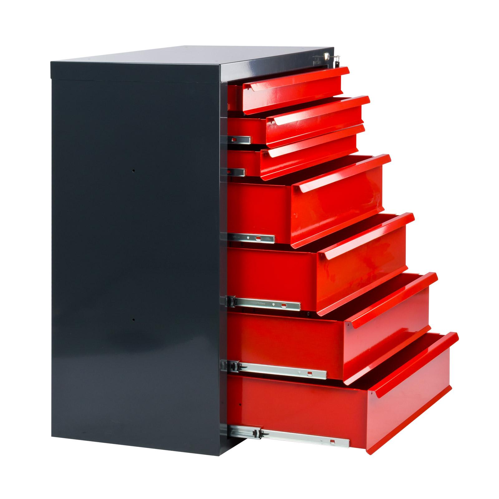 schubladenschrank schrank metallschrank werkzeugschrank werkstattschrank 917065 ebay. Black Bedroom Furniture Sets. Home Design Ideas