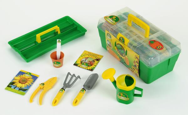 910009 theo klein gartenprofibox samen 2690 garten spielzeug for Garten spielzeug