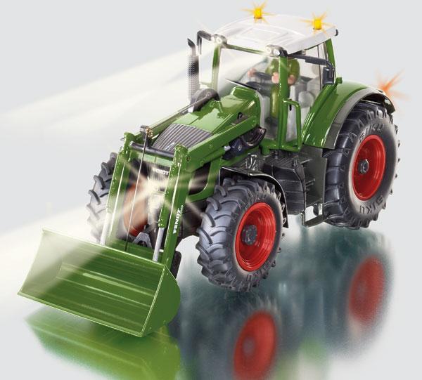 Siku traktor mit frontlader