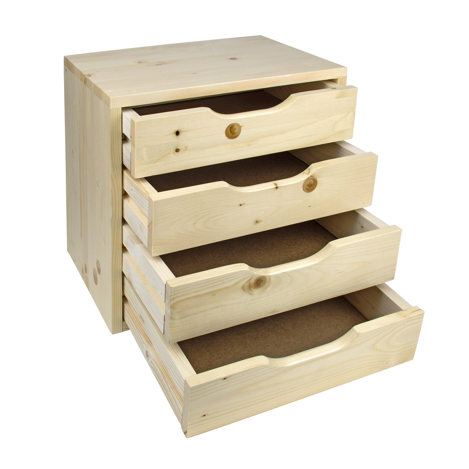 919190 holz schubladenbox schubladen ablagebox holzkiste box sb 4 40x30x40cm ebay. Black Bedroom Furniture Sets. Home Design Ideas