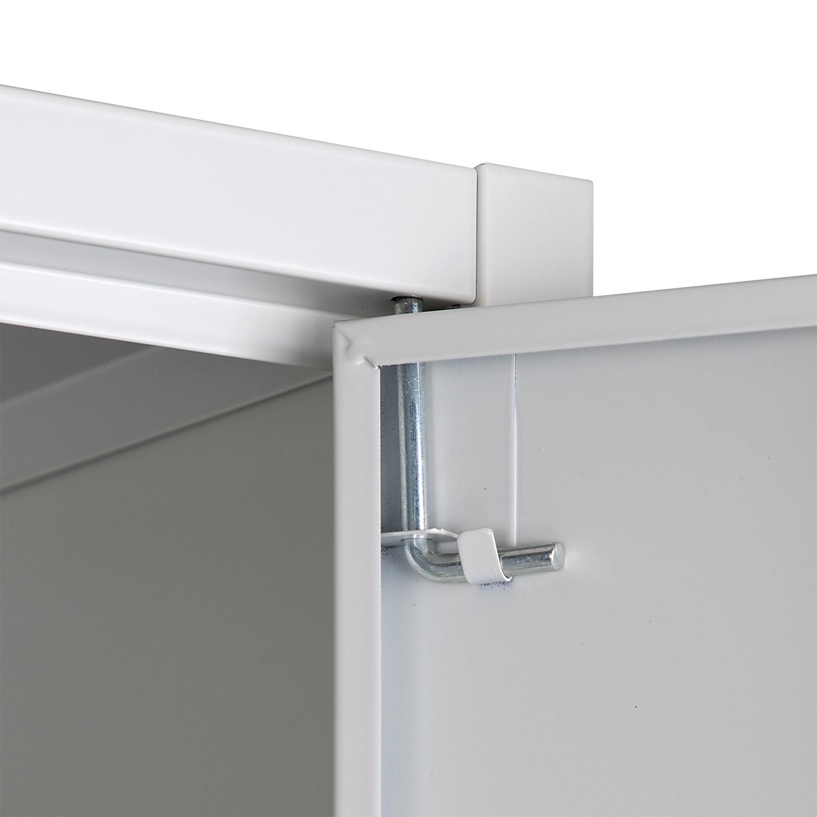 917341 Metall Schrank Werkzeug Akten Büro Hobbyschrank 40553 | eBay