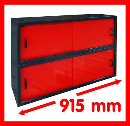 40602 h ngeschrank mit schiebet r schrank wandschrank werkzeugschrank werkstatt ebay. Black Bedroom Furniture Sets. Home Design Ideas