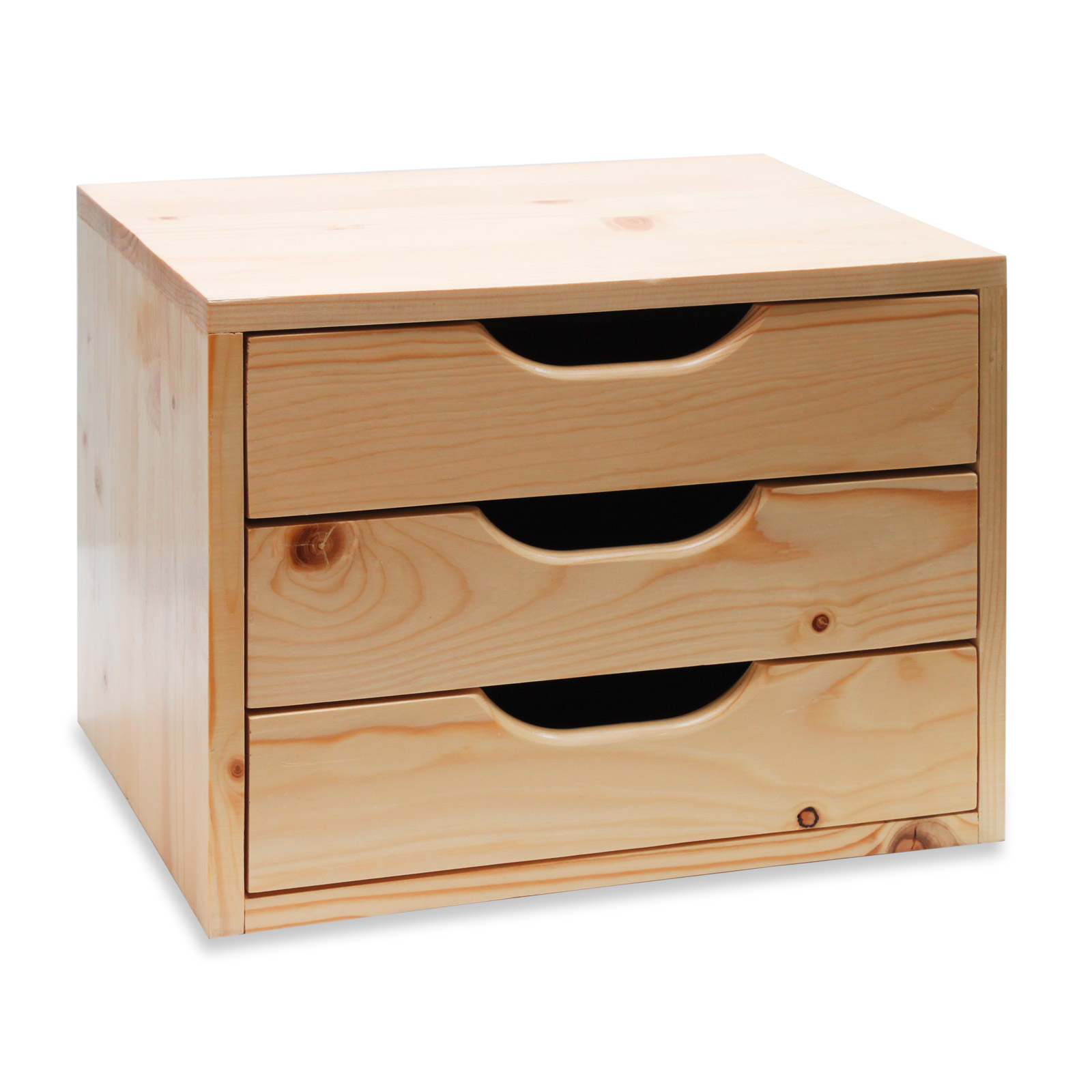 40617 holz schubladenbox beistelltisch holz box. Black Bedroom Furniture Sets. Home Design Ideas