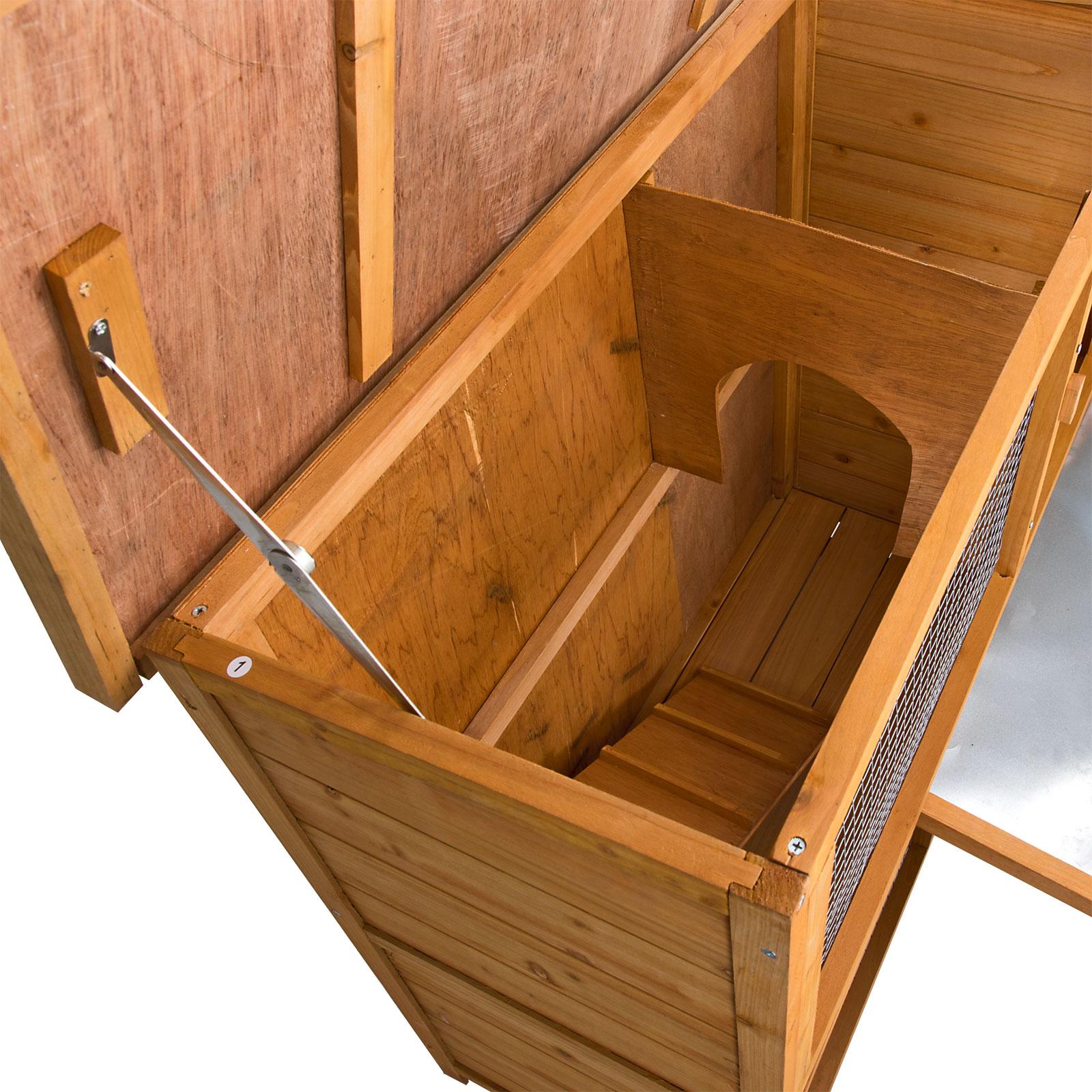 hasenhaus hasenstall kaninchenstall kleintierstall meerschweinchenstall neu41228. Black Bedroom Furniture Sets. Home Design Ideas