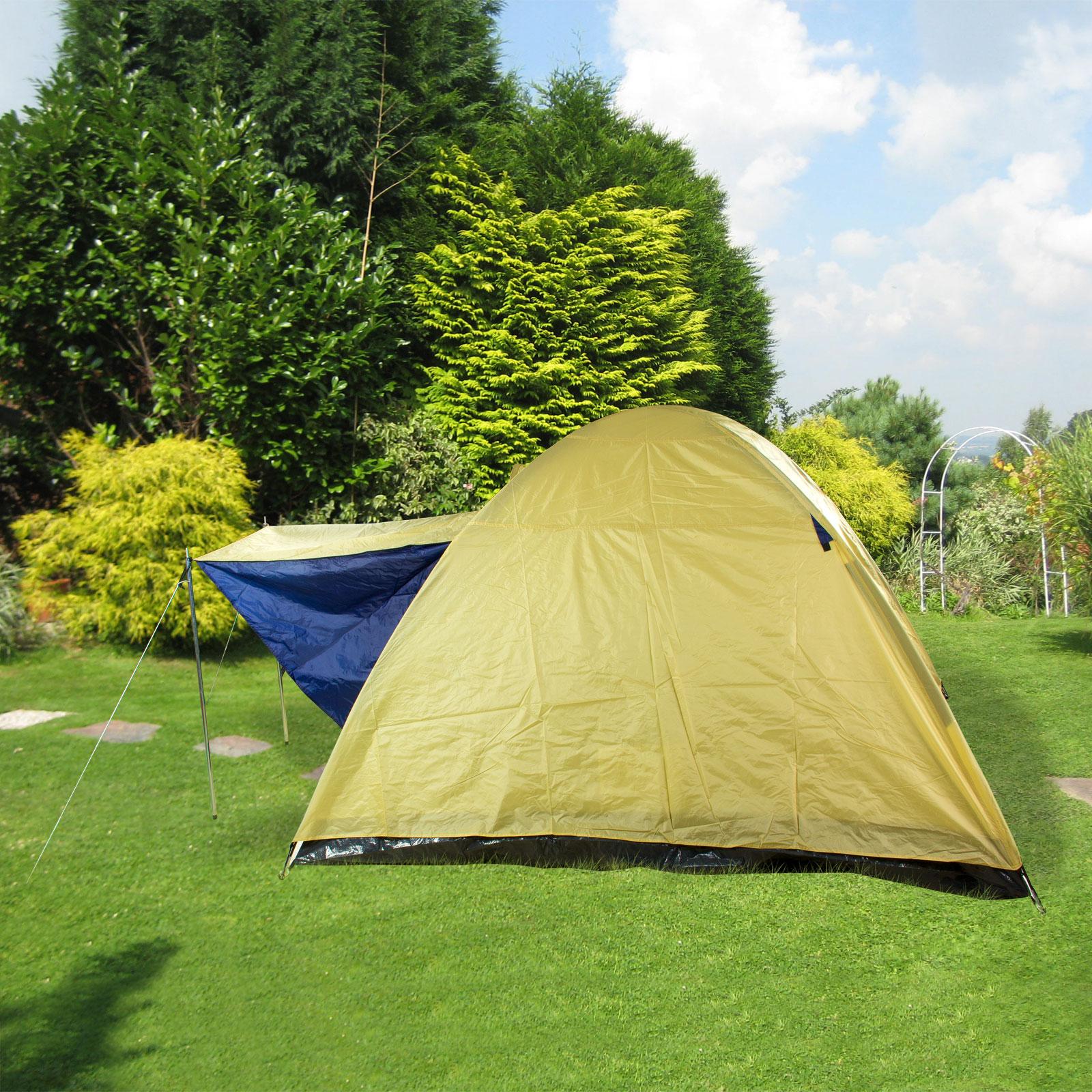 3 Man Zelt : Igluzelt kuppelzelt drei mann zelt personen camping